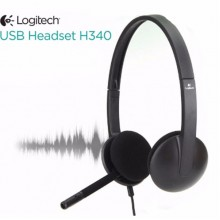 Head Phone LOGITECH H340 (co mic)