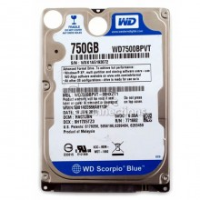 Ổ cứng HDD Notebook Western 750GB Sata - Blue